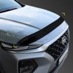 Дефлектор капота KYOUNG DONG для Санта Фе 4 (Hyundai Santa Fe 2018 - 2019)