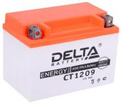Аккумулятор автомобильный  (9 А/ч) Delta CT1209