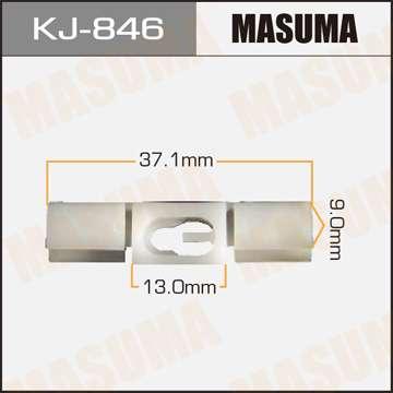 Клипса автомобильная (автокрепеж), уп. 50 шт. Masuma KJ-846