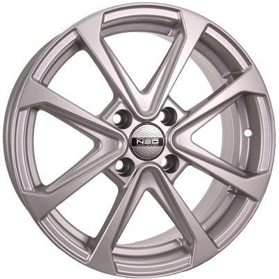 Диск колесный NEO 667N 6xR16 4x100 ET45 ЦО60,1 серебристый  N667-616-601-4x100-45S