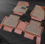 3D-обшивка кожаная в салон с ковриками Kamaru  для Kia Soul (Киа Соул) 2019, 2020