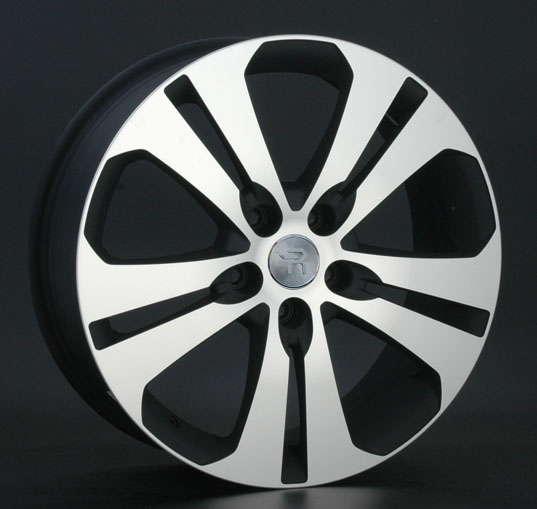 Диск колесный Replay KI42 7xR18 5x114,3 ET35 ЦО67,1 черный матовый с полированной лицевой частью 015842-060146018