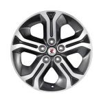 Диск колесный RepliKey D021 6.5xR17 5x114.3 ЕТ45 ЦО60.1 черный матовый полированный 86578916716