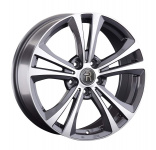 Диск колесный Replay VV319 7.5xR18 5x112 ET51 ЦО57.1 серый глянцевый с полированной лицевой частью 081384-160001006