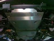 Защита РК, алюминий (V - все) АВС-Дизайн 23.04ABC Suzuki Grand Vitara (3G) 2005-