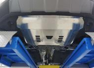 Защита картера двигателя и КПП, алюминий 4 мм (V - все) АВС-Дизайн 10.23ABC Hyundai Santa Fe (4G) 2018-