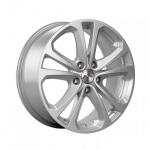 Диск колесный X'trike X-113M 9,5xR20 5x120 ET40 ДЦО72,6 серебристый 76382