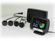 Парктроник (4 черных датчика, жидкокристаллический дисплей) KIA R980099011 для KIA K5 (3G) 2020-