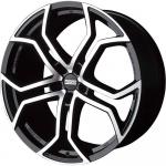 Диск колесный Fondmetal 9XR 10xR22 5x130 ET50 ЦО71,6 глянцевый чёрный с обработкой 9XR J1022505130ANA2