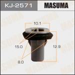 Клипса автомобильная (автокрепеж), уп. 50 шт. Masuma KJ-2571