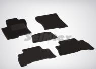 Коврики салона текстильные на резиновой основе LUX, черные Seintex 82352 Lexus GX460 2010 - 2013