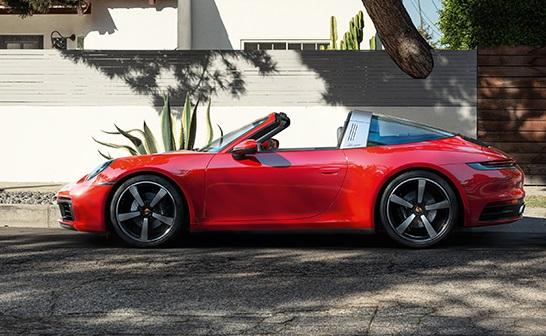 Porsche 911 с необычной крышей Targa<