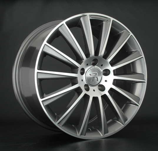 Диск колесный Replay MR139 8xR18 5x112 ET50 ЦО66,6 серый глянцевый с полированной лицевой частью 028124-070060011