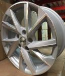 Диск колесный Carwel Тоджа 1714 7xR17 5x112 ET49 ЦО57.1 серебристый с полированной лицевой частью 097824