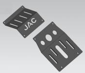 Защита картера и кпп стальные для JAC T6 2019 -