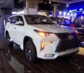 Юбка боковая TRD для Toyota Fortuner 2017-