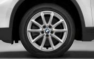 Зимнее колесо в сборе  R17 V-Spoke 560 (Goodyear Ultra Grip 8 Performance,нешип) 36112409015 для BMW X1 (F48) 2015-