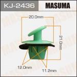 Клипса автомобильная (автокрепеж), 1 шт., Masuma KJ-2436