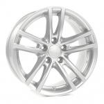 Диск колесный Rial X10 5xR19 5x112 ET43 ЦО66,5 серебристый X10-50943W61-0