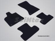 Коврики салона текстильные на резиновой основе LUX, черные Seintex 89628 Mercedes Sprinter Classic 2000 - 2006