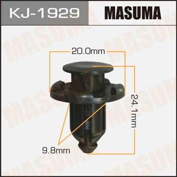 Клипса автомобильная (автокрепеж), 1 шт., Masuma KJ-1929