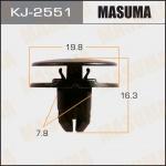 Клипса автомобильная (автокрепеж), уп. 50 шт. Masuma KJ-2551