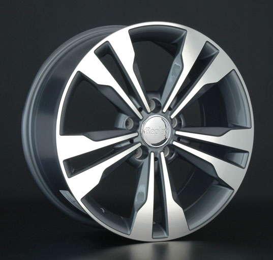 Диск колесный REPLAY MR131 8,5xR19 5x112 ET57 ЦО66,6 серый глянцевый с полированной лицевой частью 036315-070060006