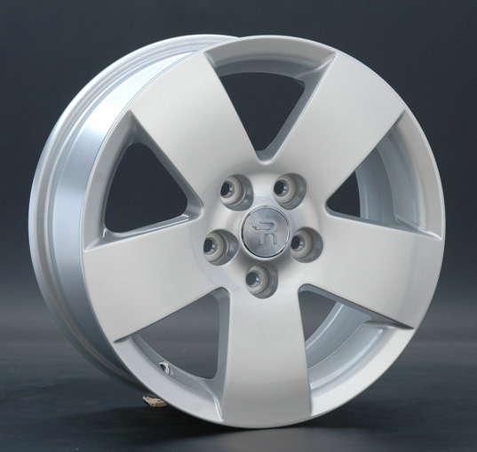 Диск колесный Replay MI37 6,5xR16 5x114,3 ET38 ЦО67,1 серебристый 016644-070164004