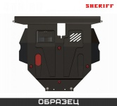 Защита картера SHERIFF 221289 для Subaru Impreza
