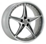Диск колесный NZ SH657 6.5xR16 5x114.3 ET47 ЦО66.1 серебристый с полированной лицевой частью 9129021