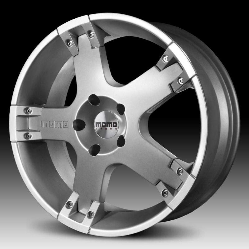 Диск колесный MOMO STORM G.2 8,5xR20 5x127 ET40 ЦО71,6 серебристый WSGS85040527