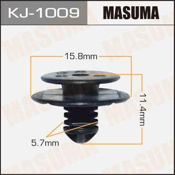 Клипса автомобильная (автокрепеж), 1 шт. Masuma KJ-1009