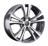 Диск колесный Replay MR252 7,5xR18 5x112 ET49 ЦО66,6 серый глянцевый с полированной лицевой частью 081382-160060006