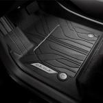 Коврики в салон передние (резиновые, черные) GM 84331850 для Chevrolet Traverse 2018 -