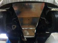 Защита топливного бака V-2,0 TD,КПП - все(2009-, Алюминий 4 мм) АВС-Дизайн 26.08ABC Volkswagen Amarok (1G) 2010-