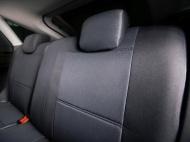Чехлы на сиденья (жаккард) тёмно-серый Seintex 86143 для Toyota RAV4 2015-