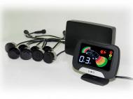 Парктроник (8 черных датчиков, жидкокристаллический дисплей) KIA R980099003 для KIA K5 (3G) 2020-