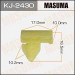 Клипса автомобильная (автокрепеж), 1 шт., Masuma KJ-2430