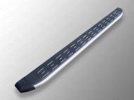 Пороги алюминиевые с пластиковой накладкой 1720 мм ТСС TOYRAV15-19AL для Toyota RAV4 2015-