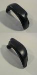Подкрылки задние Петропласт пластиковые, комплект для Mitsubishi Outlander 2012 - 2014