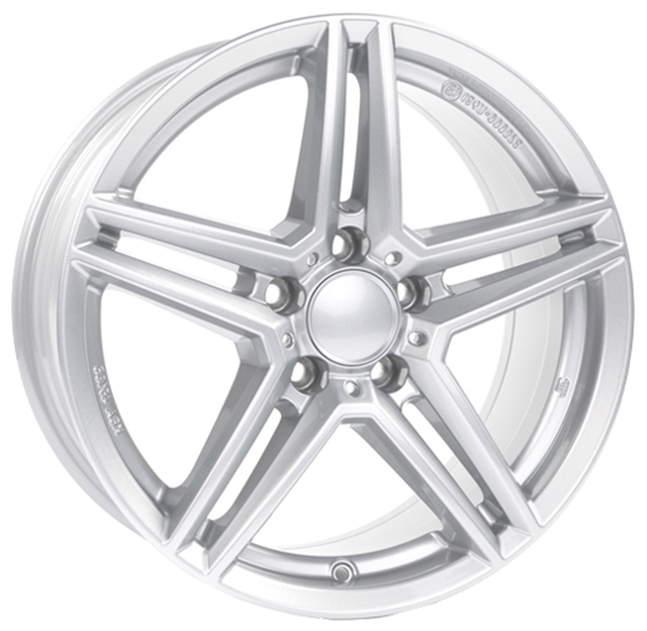 Диск колесный Rial M10X 7,5xR17 5x112 ET53 ЦО66,5 серебристый M10X-75753M81-0