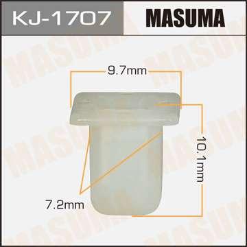 Клипса автомобильная (автокрепеж), уп. 50 шт. Masuma KJ-1707