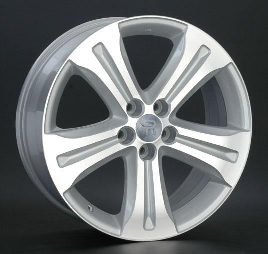 Диск колесный REPLAY LX23 8,5xR20 5x150 ET58 ЦО110,1 серебристый с полированной лицевой частью 041724-040656009