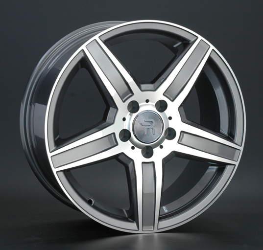 Диск колесный REPLAY MR99 8xR17 5x112 ET38 ЦО66,6 серый глянцевый с полированной лицевой частью 019048-040060006
