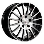 Диск колесный X'trike X-128 6.5xR16 5x114.3 ЕТ38 ЦО67.1 черный полированный 15003AX