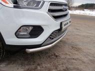 Решетка радиатора TCC FORKUG17-03 Ford Kuga 2016-