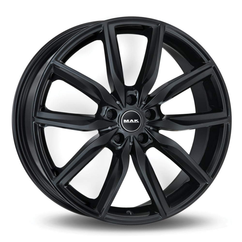 Диск колесный MAK Allianz 8xR19 5x112 ET54 ЦО66,6 черный глянцевый F8090AZGB54WS5X