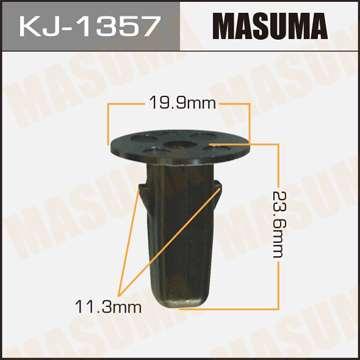 Клипса автомобильная (автокрепеж), 1 шт., Masuma KJ-1357