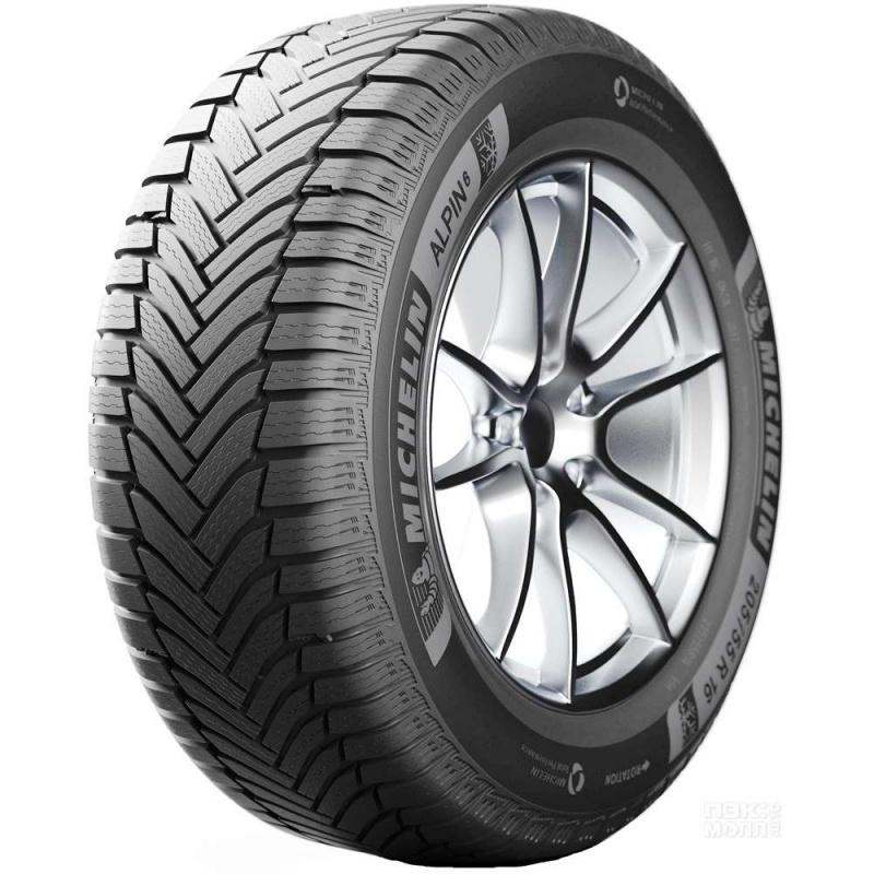Шина автомобильная Michelin ALPIN 6 215/55 R16, зимняя