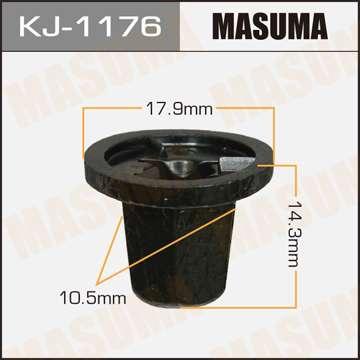 Клипса автомобильная (автокрепеж), уп. 50 шт. Masuma KJ-1176